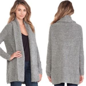 Joie Solome Cardigan Boucle Knit Open Front Sweate